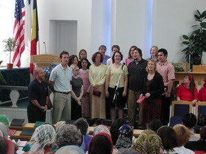 Vizita studentilor de la Bethel College